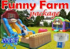 "<strong><span style=""color:#0000ff;"">Funny Farm Package (WET)"