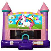 Baby unicorn bounce house 2