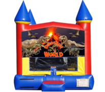 "<strong><span style=""color:#0000ff;"">Dinosaur Bounce House"
