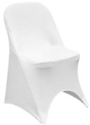 Chair with Spandex cover