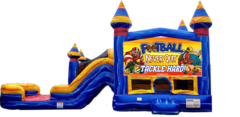 Football Combo Bounce House (WET)