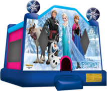 "<strong><span style=""color:#0000ff;"">Frozen Bounce House"