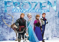 "<strong><span style=""color:#0000ff;"">Frozen Party Package"
