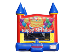 "<strong><span style=""color:#0000ff;"">Happy Birthday Bounce House"