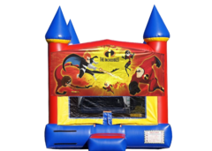 "<strong><span style=""color:#0000ff;"">The incredibles Bounce House"