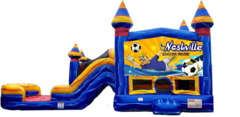 Soccer Combo Bounce House (WET)