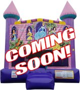 "<strong><span style=""color:#0000ff;"">Disney Princess Bounce House 3"