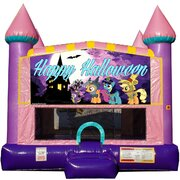 Spooky Ponies Halloween Bounce House