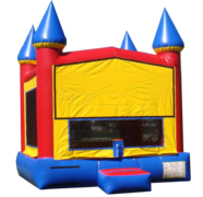 "<strong><span style=""color:#0000ff;"">Rainbow Bounce Castle"