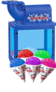 Snow Cone Machine***Includes servings for 20 people***