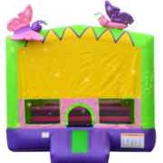 "<strong><span style=""color:#0000ff;"">Sparkling Butterfly Bounce House"