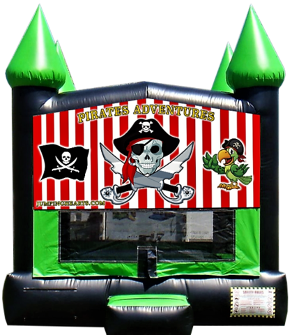 Pirate Bounce House 2