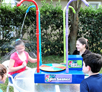 Spin Soaker Water Game