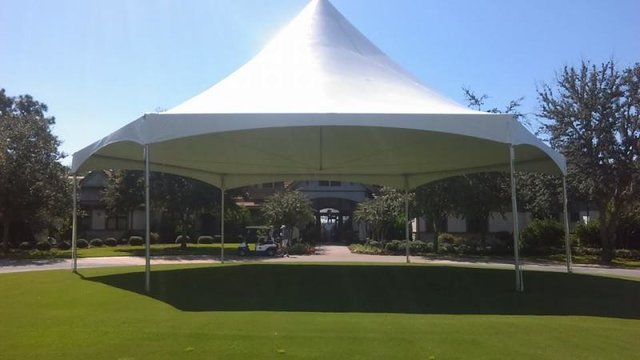 Hexagon Event Tent