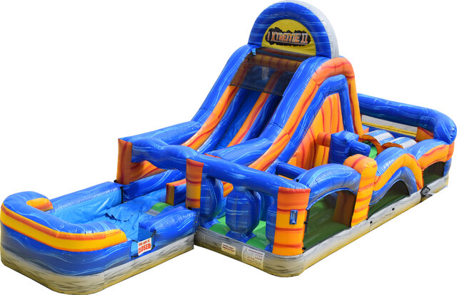 Mega Marble Wet Obstacle Course