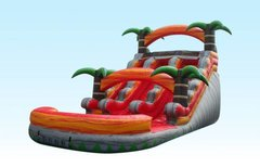 15' Hot Tamales Dual Lane Water Slide