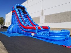 18' Cool Breeze Water Slide