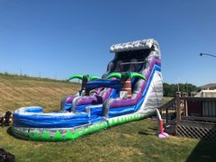 Boulder Crush 18' Dual Lane Water Slide