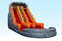 19' Dual Lane Lava WaterSlide