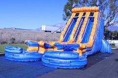 Electric Wave 22' Dual Lane Water Slide