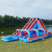 Flash 5n1 20' Dual Lane slide w/ Slip n Slide
