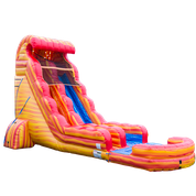 22' Blazing Tides Water Slide