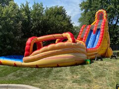 27' Lava Twist Waterslide