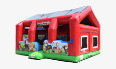 Barnyard Toddler Petting Zoo Bouncer