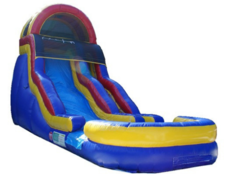 18 FEET BUBBLE BUMP WATER SLIDE WITH/POOL