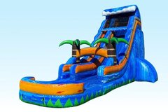 24 FEET PARADISE WATER SLIDE/POOL