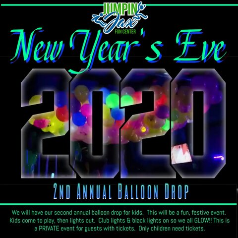 New Years Eve Balloon Drop