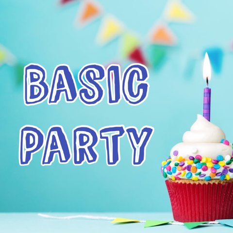 1. Basic Party Package