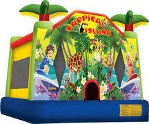 Pickup Tropical Bounce House- 13x13