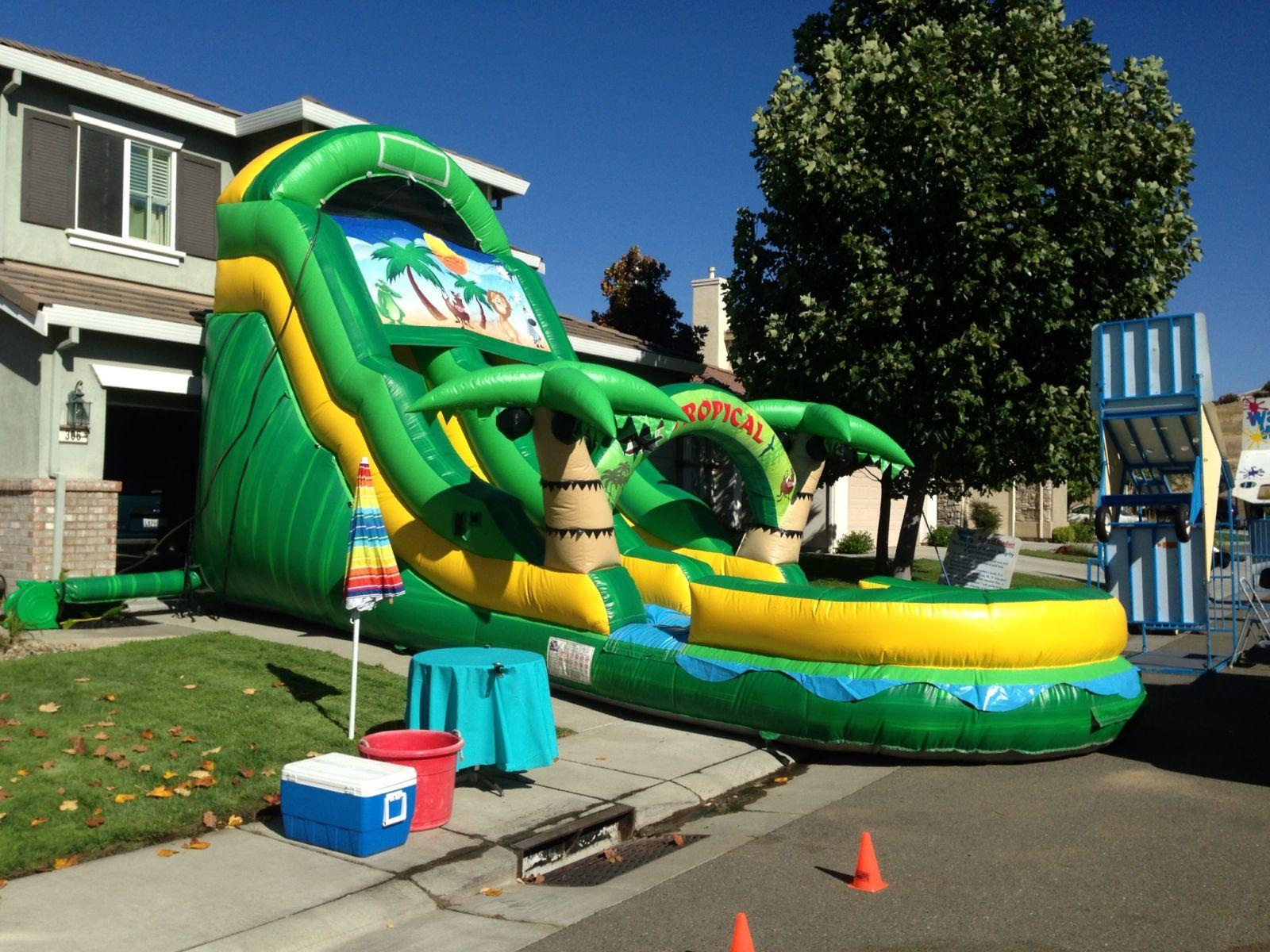 Water Slide Rentals Elk Grove