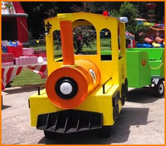Nashville Trackless Train Rental