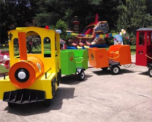 Trackless Train Rentals Nashville and Murfreesboro