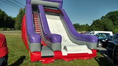 18 FOOT PURPLE SLIDE