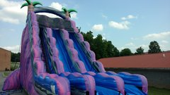 27 FOOT PURPLE CRUSH DRY SLIDE
