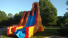 27 FOOT LAVA TWIST DRY SLIDE