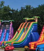 27 FOOT TROPICAL SLIDE