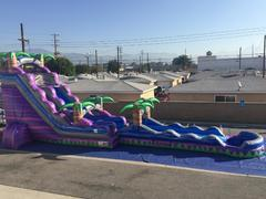 22 FOOT PURPLE PARADISE DROP AND SLIDE