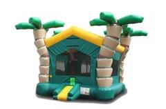 3-D TROPICAL BOUNCE HOUSE