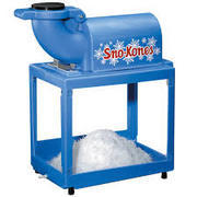 SNO-KONE MACHINE WITH SYRUP AND CONES FOR 40 SERVINGS (ICE NOT INCLUDED)