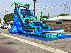 22 FOOT BLUE CRUSH WATER SLIDE