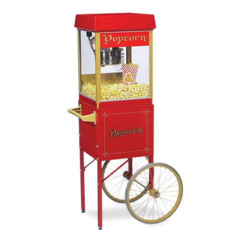 PREMIUM POPCORN CART & MACHINE