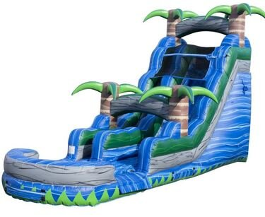 "Tropical Oasis Water Slide "" Coming Soon """