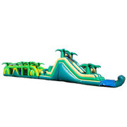 Water Slide Obstacle Courses