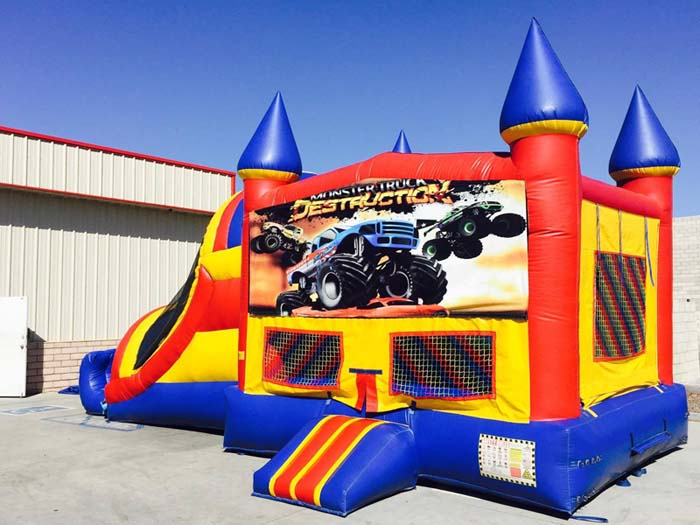 Monster Truck 4n1 Inflatable Combo