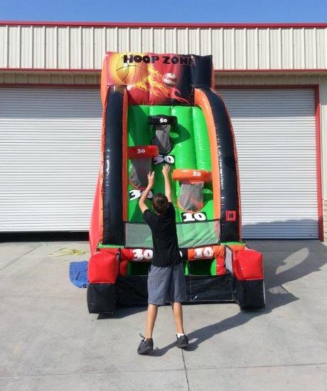 Basketball Free Throw Interactive Inflatable