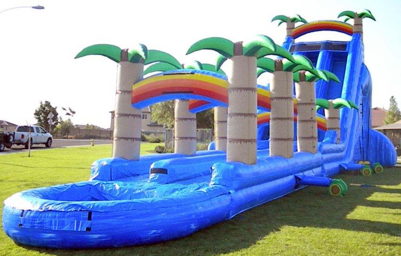 27 Ft. Hawaiian Tropic Extreme Waterslide with Pool Rental